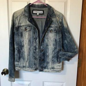 Express EUC Distressed Jean jacket